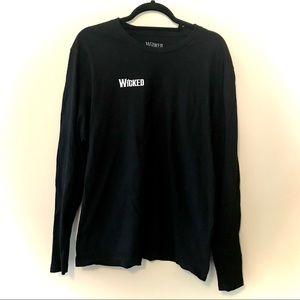 Wicked The Broadway Musical Longsleeve Black Shirt